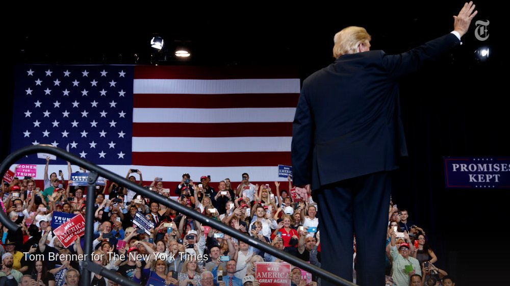 """At a campaign rally in Las Vegas, President Trump said that he and Republicans """"will protect patients with pre-existing conditions."""" But his Justice Department has said that those provisions under the Affordable Care Act should be overturned. https://t.co/yShNwYqw3s"""