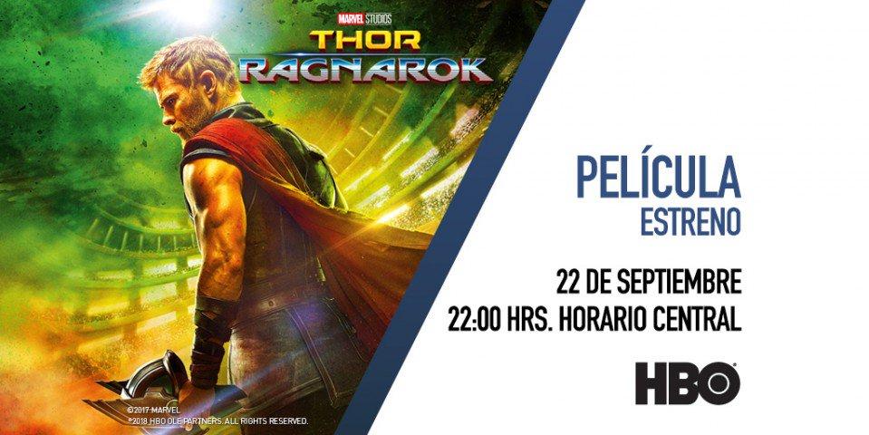 ¿Thor enfrentando a Hulk y sin su poderoso martillo? Sin duda es una de las peleas que no te puedes perder. ¡Disfruta 'Thor: Ragnarok' por @HBOLAT! https://t.co/Z3cJbp9YTo