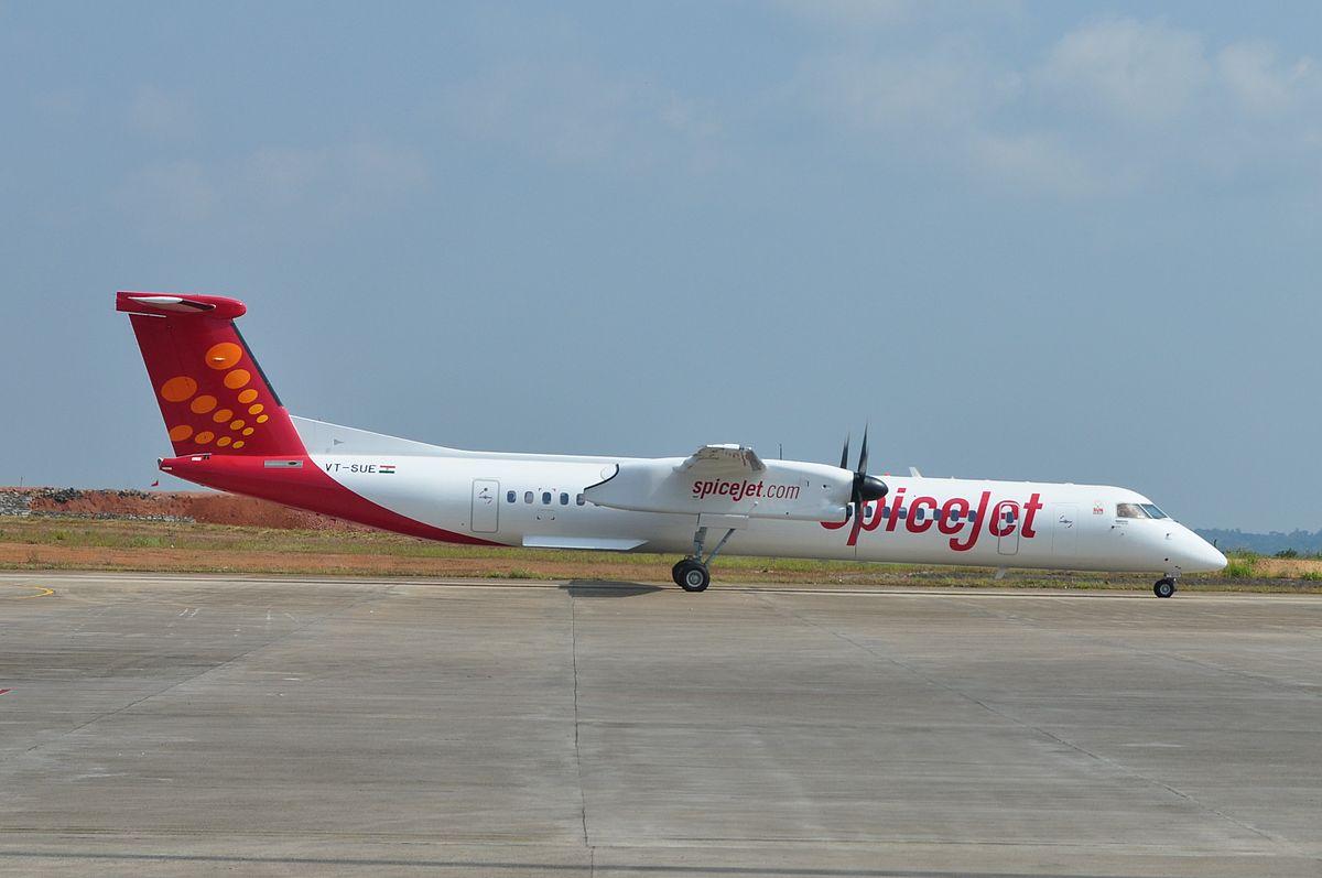 Resultado de imagen para Bombardier delivers first Q400 SpiceJet 90 pax