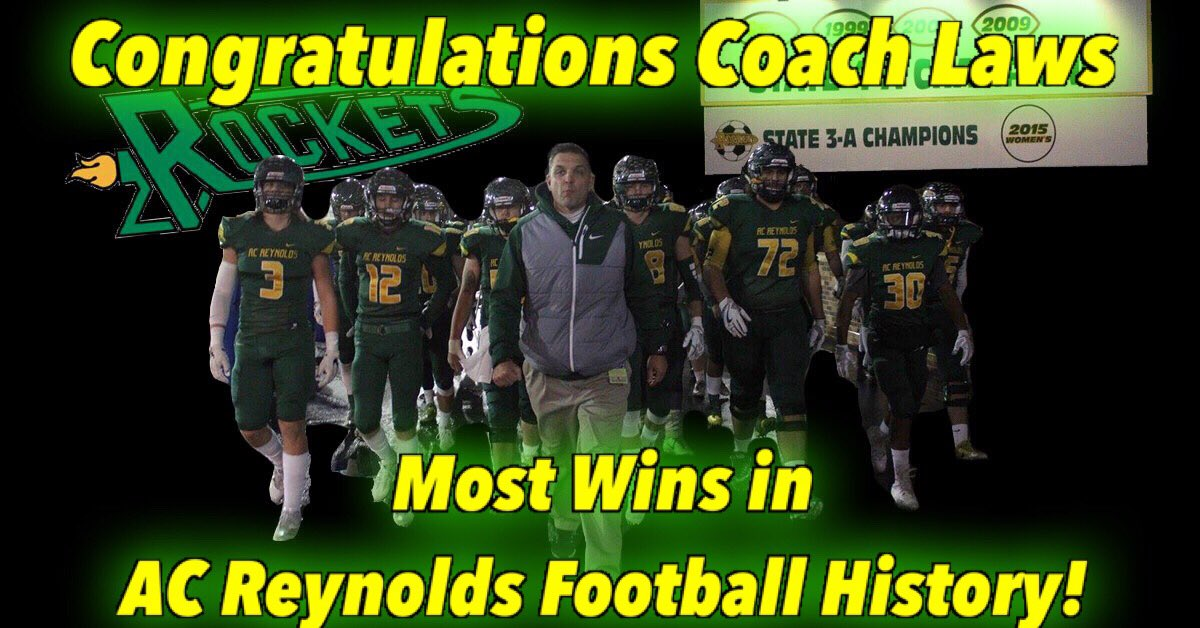 A C Reynolds Rockets Football On Twitter Congratulations To