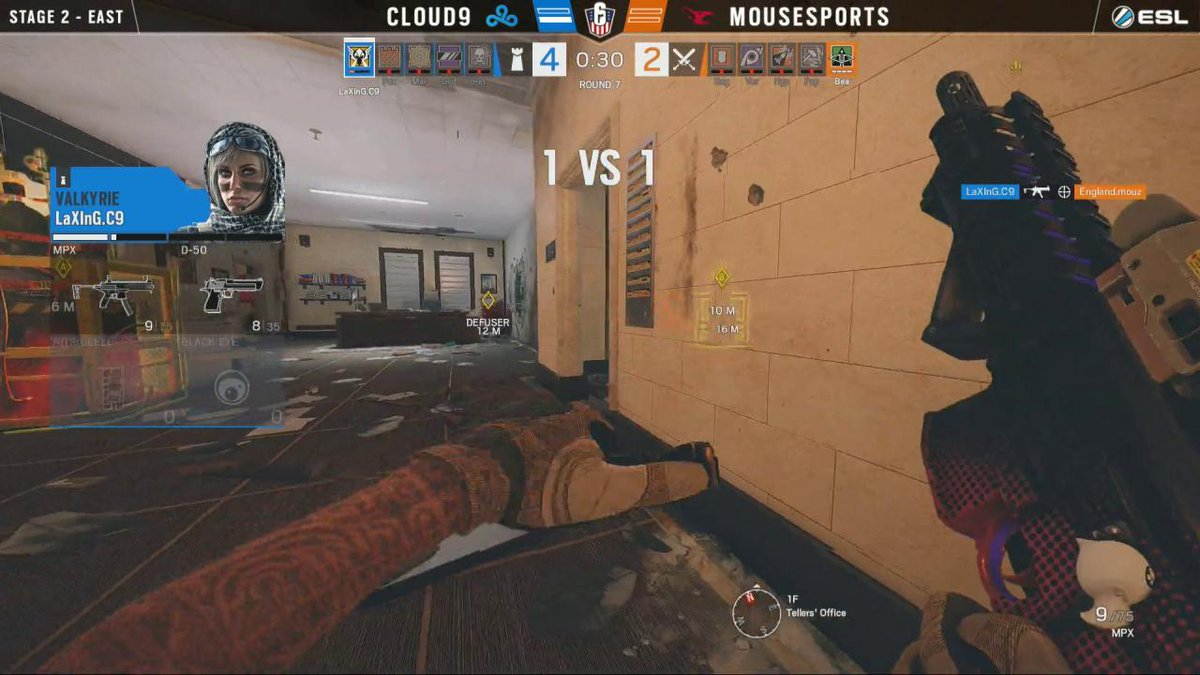 Image for the Tweet beginning: The flick! @Bexstly #R6USN
