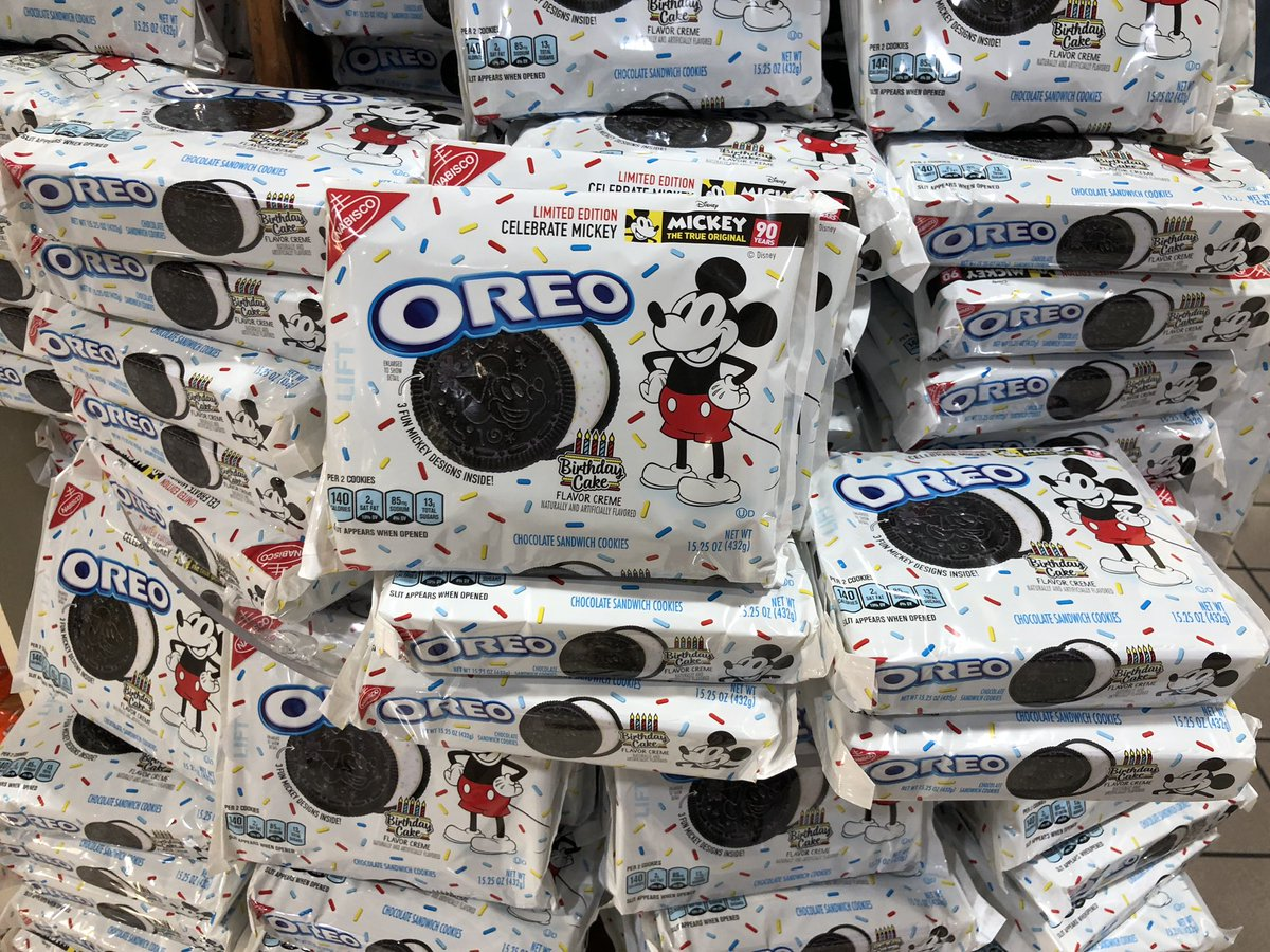 Scott Ladewig On Twitter Found The Mickey Mouse Birthday Oreo At