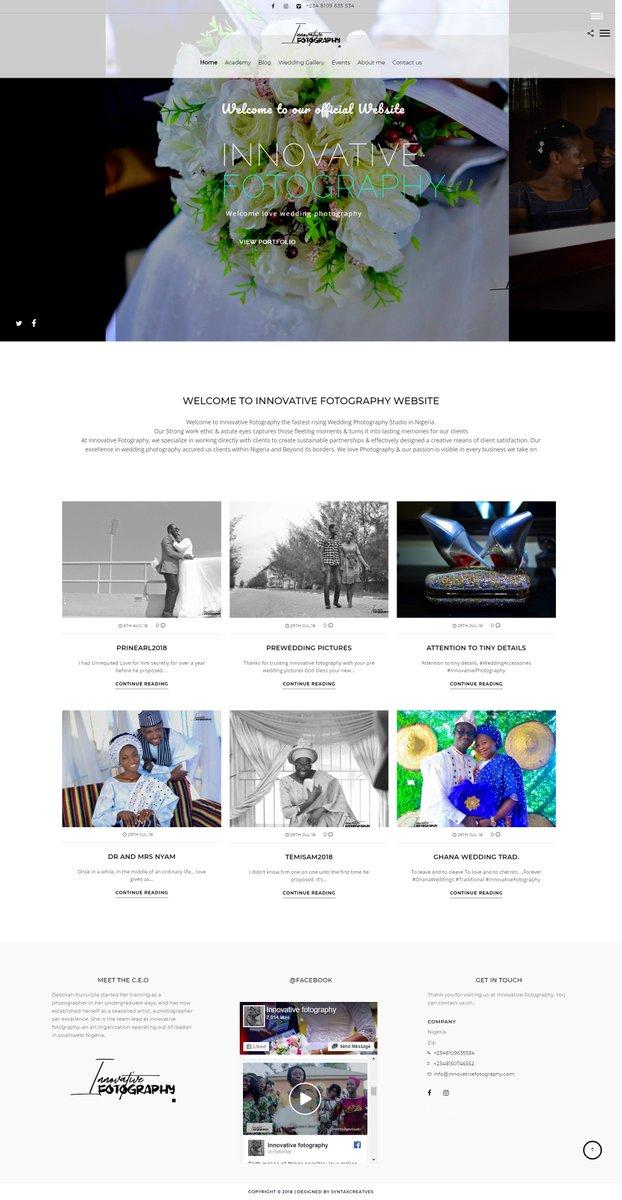 Syntaxcreatives On Twitter Website Design Work Sample For Https T Co Rbdygkhoy9 Designed By Syntaxnaija Web Webdesign Webdev Dev Brand Get Your Renown Website Today Best Web Design Development Company In Nigeria Syntaxnaija Webdesign