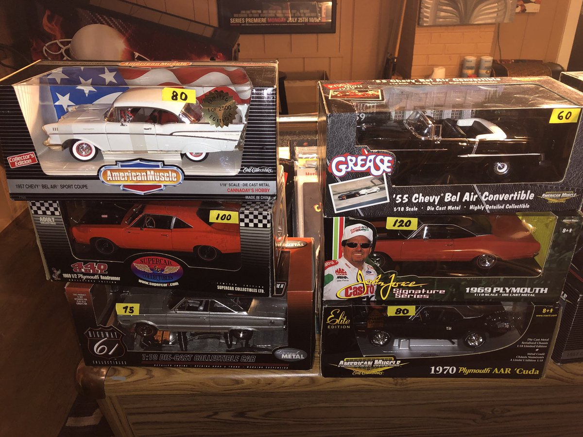 1:18 diecast cars lot hashtag on Twitter