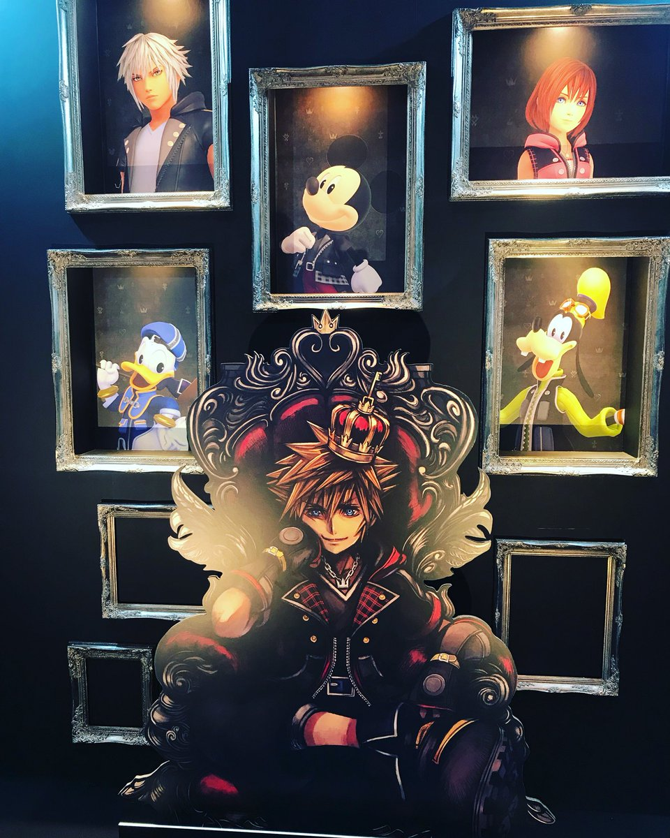 Kingdom Hearts On Twitter The First Day Of Tgs2018 Consumer Day