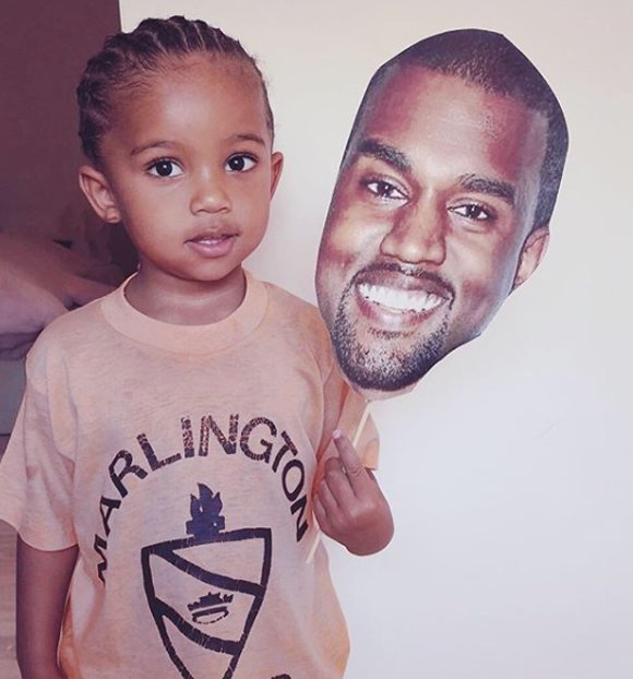 #SaintWest is SO CUTE!