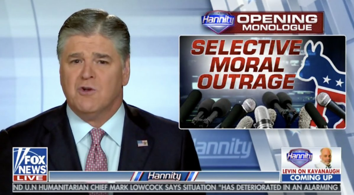 Hannity Exposes Kavanaugh's Accuser's Lawyer's Hypocrisy On Sexual Misconduct https://t.co/1DDIUstW00