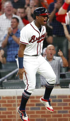 Braves beat the Phillies 6-5  Magic Number down to 2  A Braves win Saturday afternoon gives them the NL East crown!