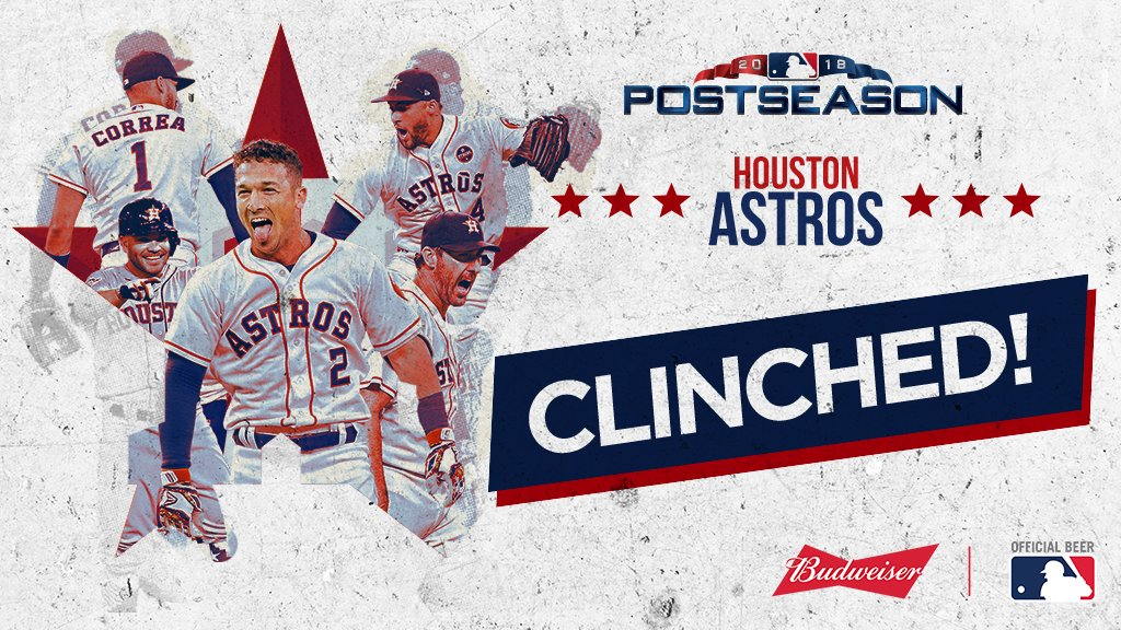 Postseason berth #CLINCHED. One step closer to a repeat …