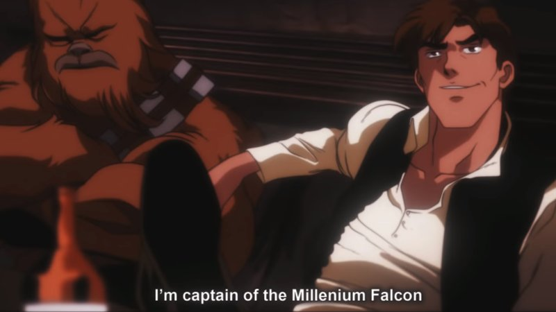 Star Wars: A New Hope, but as a classic '80s anime https://t.co/Dt2MKlTy0y https://t.co/U4vv9rk3Xi