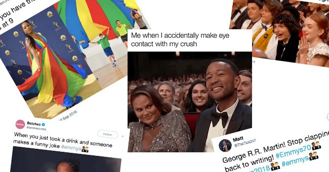 The best memes from the 2018 Emmy Awards. #Emmys #Emmys70 https://t.co/KtiIaY0STj