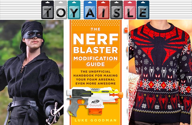 It's never too early for ugly sweaters, and more of the weirdest toys and merchandise of the week https://t.co/uXXwxj2rWa