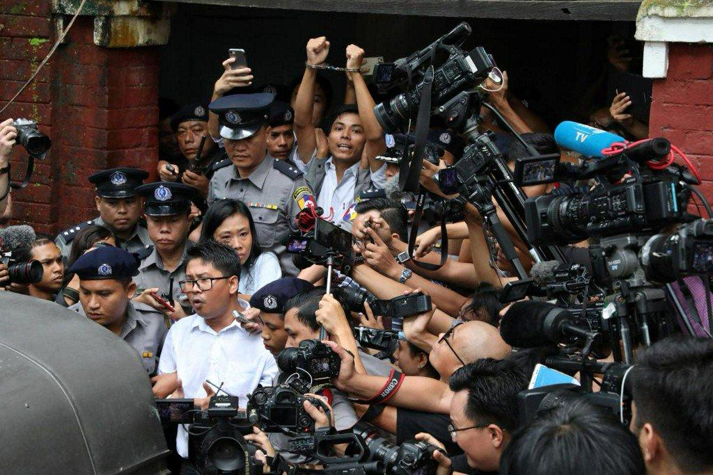 U.N. chief urges Myanmar government to free Reuters journalists https://t.co/p9gMtOypkt https://t.co/KoyDemUxOM