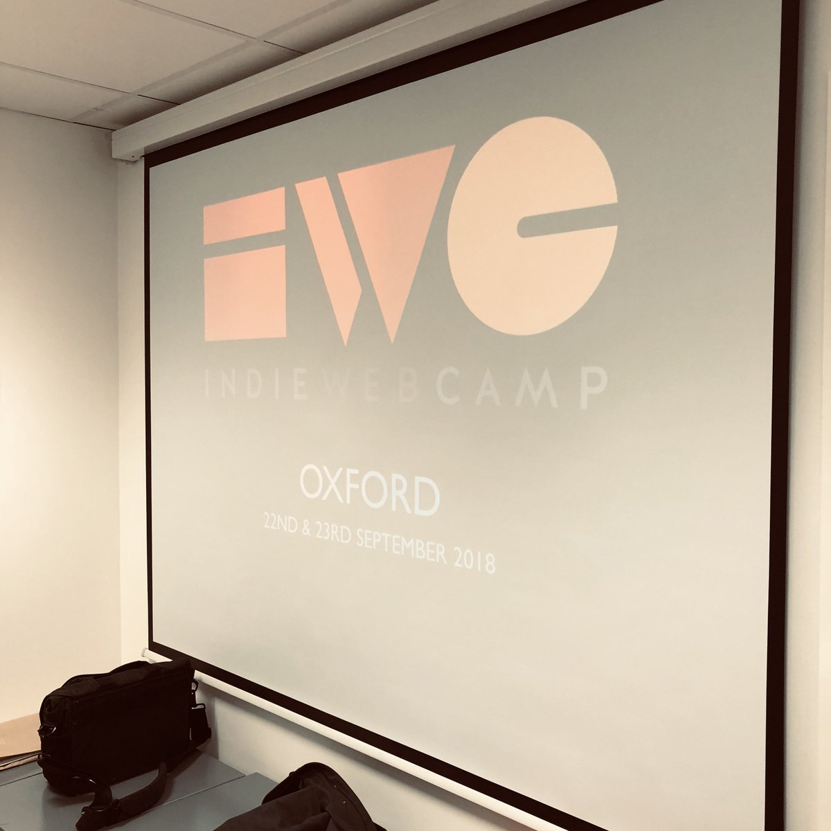Opening presentation for IndieWebCamp Oxford 2018 Day 1