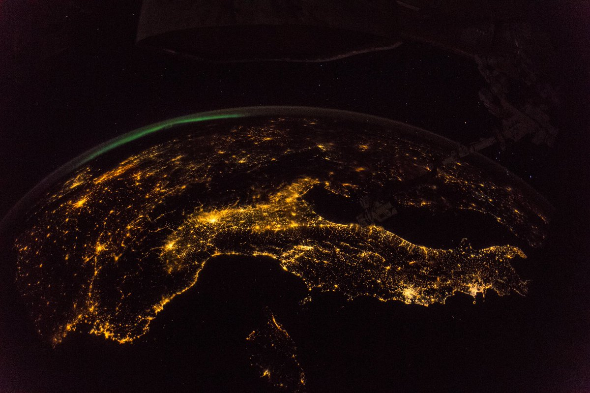 From space it's pretty clear that #Europe belongs together.