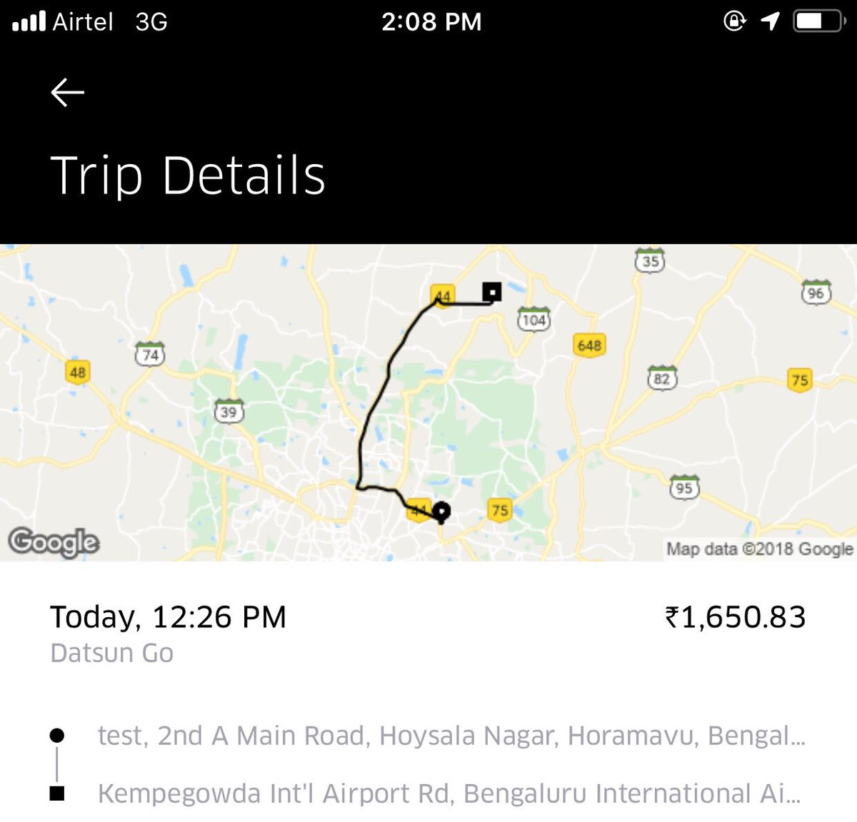 Shyam Viking On Twitter Uber Support Do You Think This Is Fair Fare Can Address Surgeprice I Pay Less Than From My Home