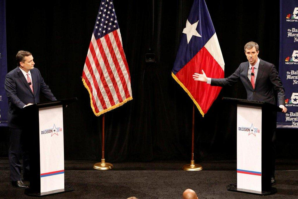 Senate candidates Cruz, O'Rourke square off in fractious debate https://t.co/YCxX5L5LiK https://t.co/dfrPRvCvto