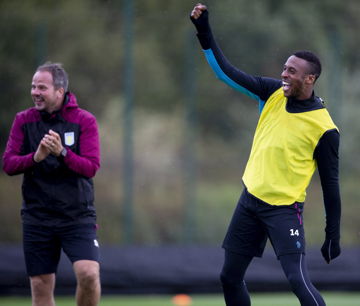 Clem and @J_Kodjia react to the news that we're heading for our biggest crowd of the season inside Villa Park today. 🙌 Last-minute tickets 👉 bit.ly/2MJKoNG #PartOfThePride #AVFC