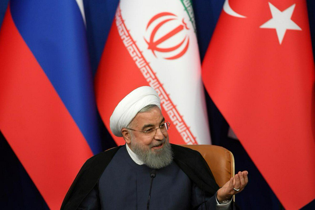 Iran will defeat Trump just like it did Saddam, won't abandon missiles - Rouhani https://t.co/17ZugRiVaE https://t.co/DQVAmmXIIl