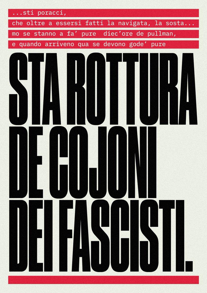 """""""Free"""" e quindi stampabile da tutti, sempre, ovunque, il poster di quel geniaccio di Testi Manifesti su """"Sta rottura de..""""Edddai su, stampatene una copia! #salvini #fascisti #razzismo #diciotti  https:// www.dropbox.com/s/96z69n7ty22g0z1/cojoni.pdf?dl=0  - Ukustom"""