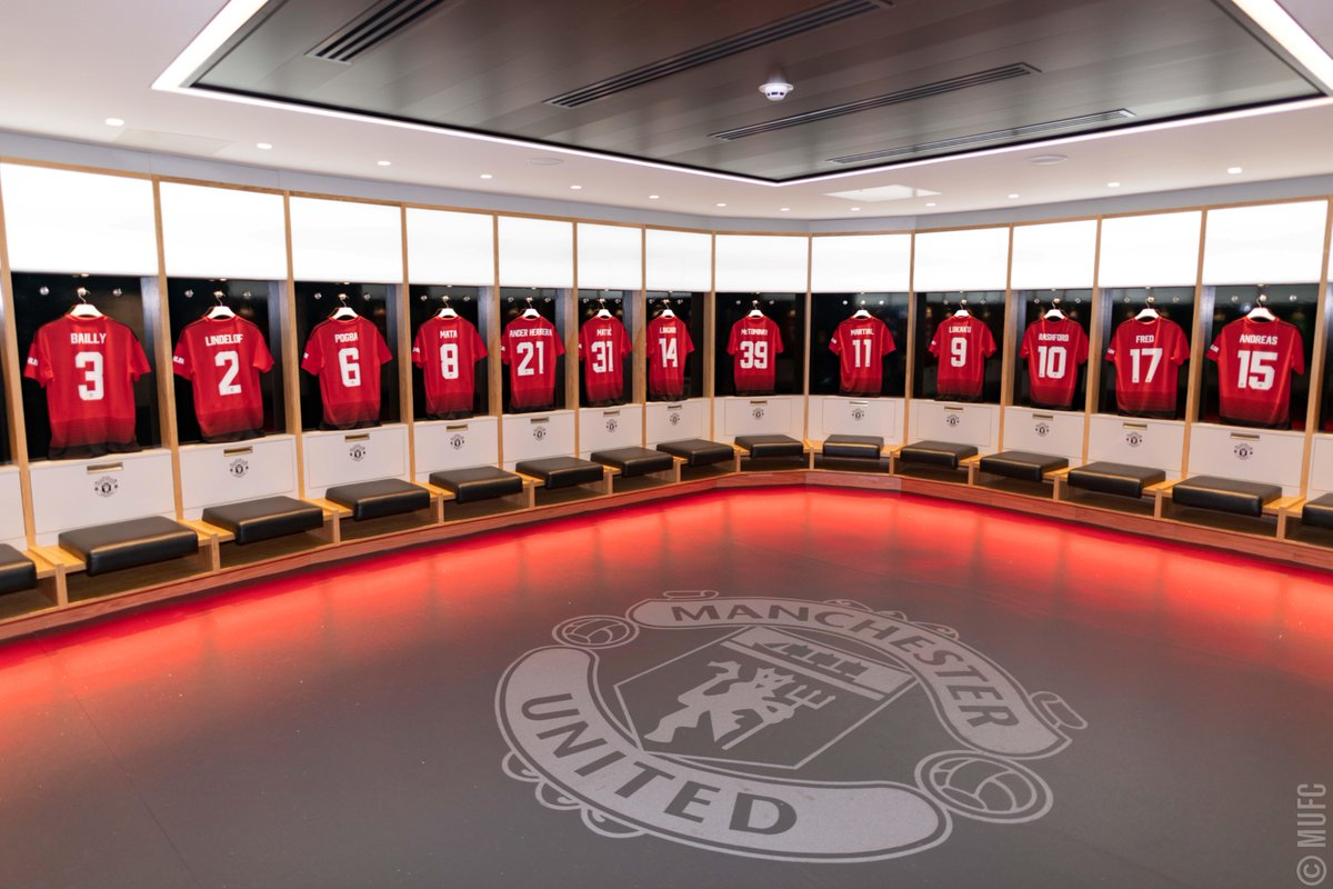 "Manchester United On Twitter ""There Are Dressing Rooms And"