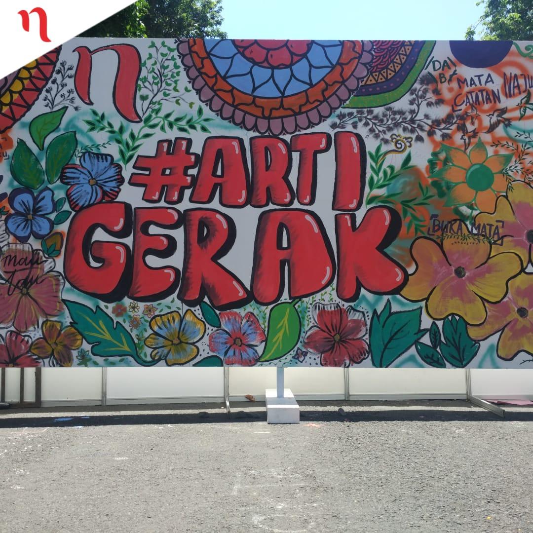 Mata najwa on twitter keren satu karya seni dari komunitas mural banyuwangi artigerak narasiroadshowbanyuwangi