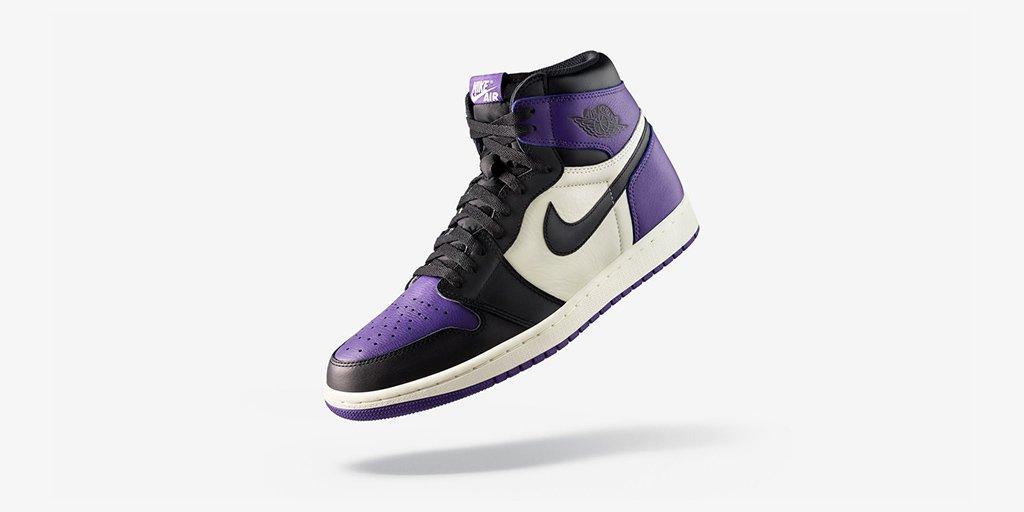 competitive price 5aa88 f98b3 Jordan 22 September 2018 RT  nikestore  The  Jumpman23 Air Jordan 1  Court  Purple  Shop 🇺🇸