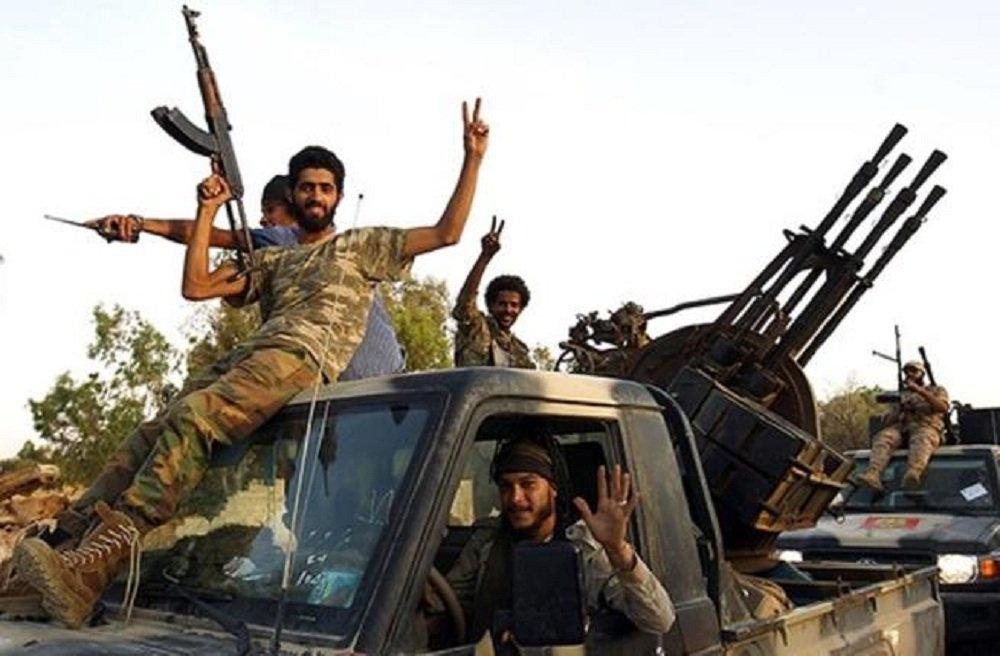 Триполи. Американская демократия в действии