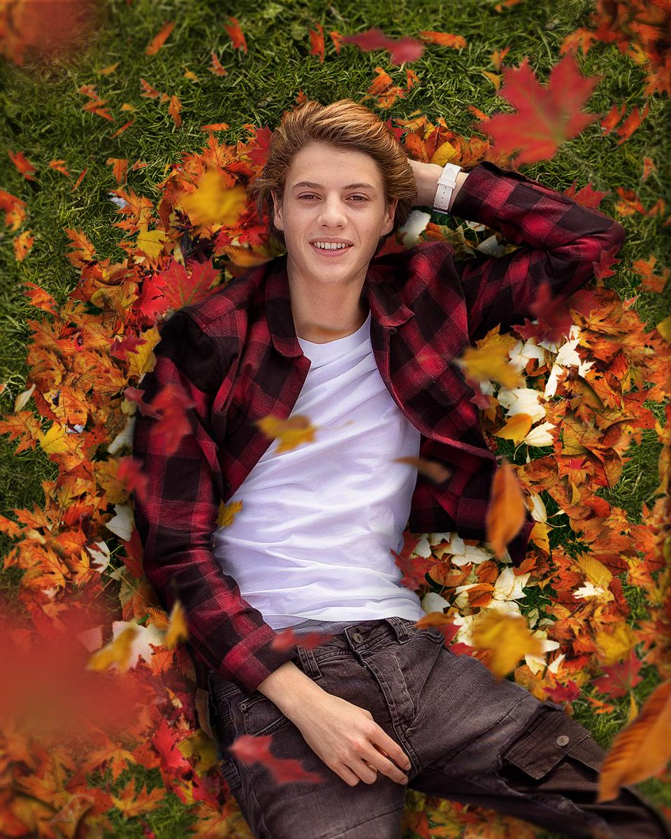 Fall into #autumn! What do you love about #fall? 🍂 #jacenorman #henrydanger #firstdayoffall