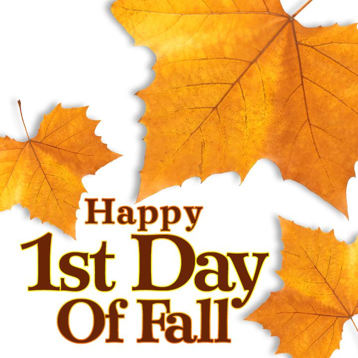 Happy 1st Day of Fall! #seasons #holidays #mood