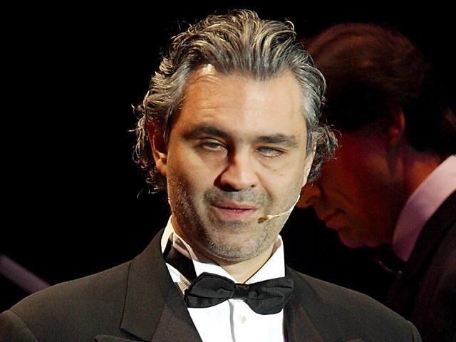 Happy birthday to the great tenor, Andrea Bocelli.