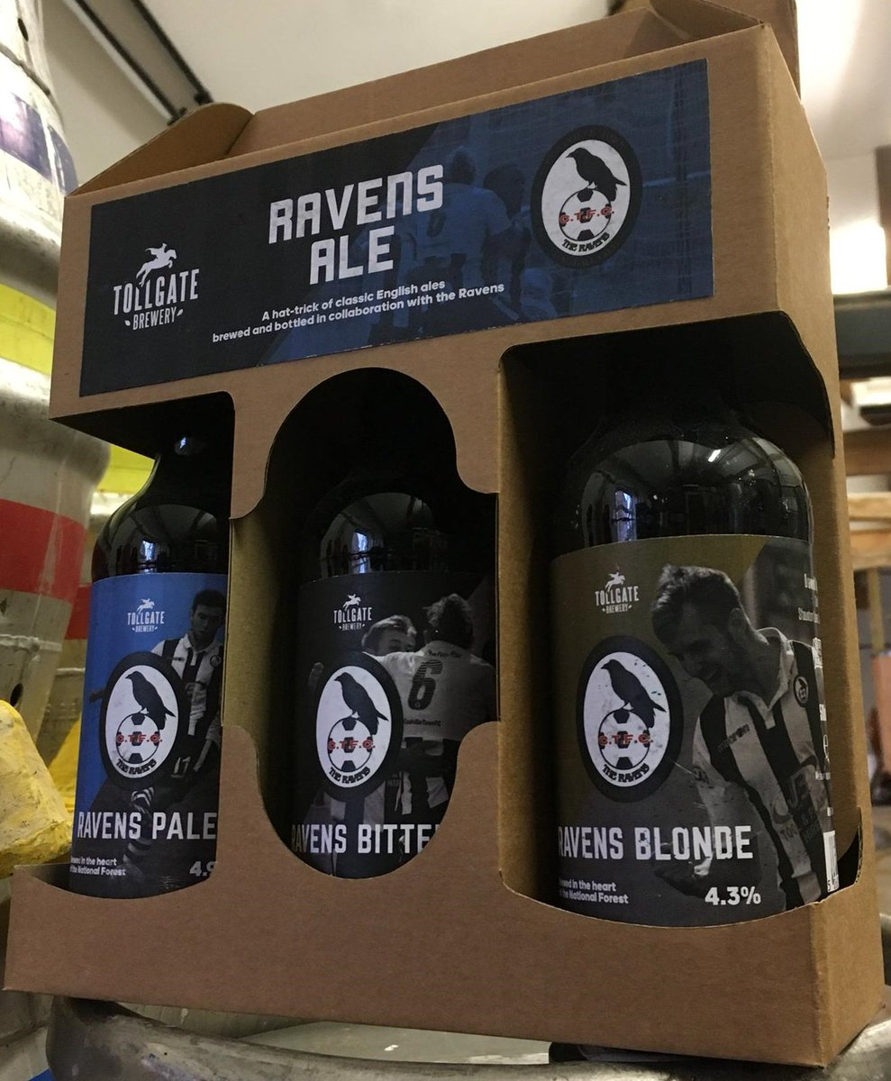Ravens Ale will be available to consume in the club bar, &amp; available to purchase (from 29/09/18) at @MMmmbread on Hotel Street in Coalville. Subject to a licence variation (pending) we will also soon be stocking it in the club shop. Thank you @TollgateBrewery, welcome on board!<br>http://pic.twitter.com/ICGdHME9yx