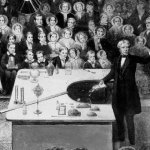 One of my scientific heroes Michael Faraday was born #OnThisDay 1791. He came from a humble background to become Professor at @Ri_Science & Fellow of @royalsociety, making major scientific contributions especially on electromagnetism. He also founded the famous RI #xmaslectures