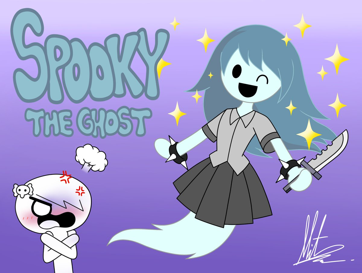Radiumiven Pa Twitter Spooky From Spooky S House Of Jump Scares Wearing Carrie S Outfit Tawog Tawogcarrie Theamazingworldofgumball Carriekrueger Spooky Spookyhouseofjumpscares Https T Co Mha3fnmpak