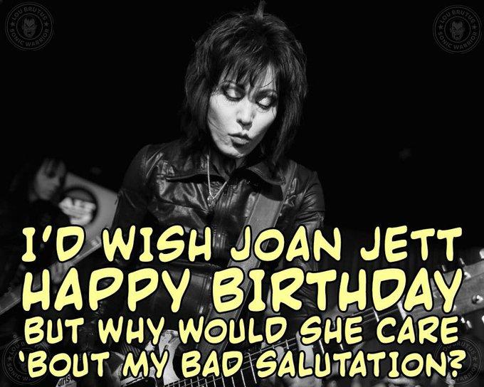 Happy Birthday to Joan Jett!