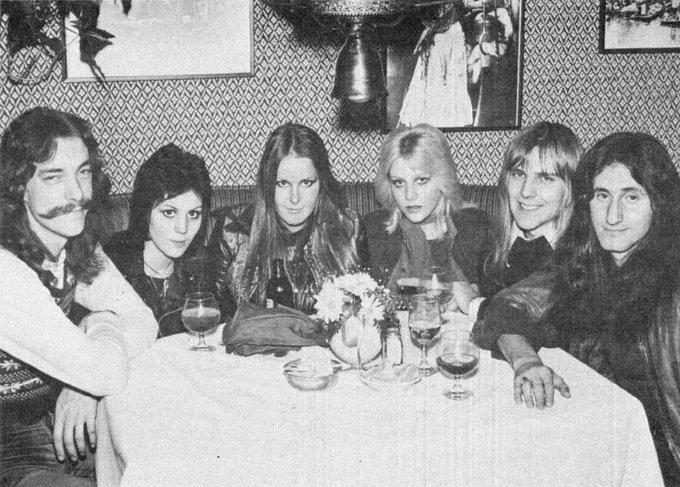 The Runaways and RUSH 1976  Happy birthday Joan Jett!!