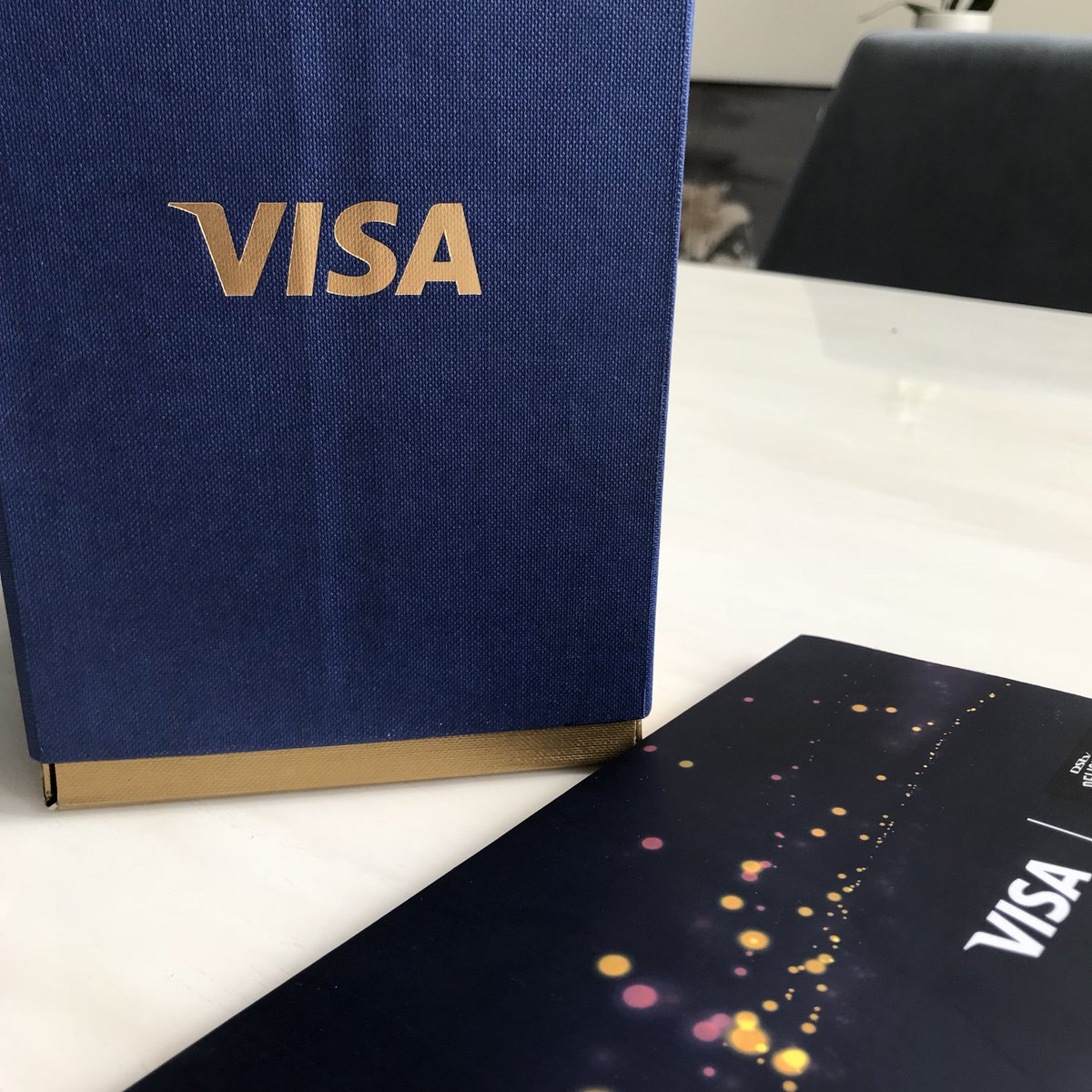 Looking forward to a delicious day with @Visa_SA at the #DStvDelicious festival. #VisaGetCloser 😍✨👌🏾