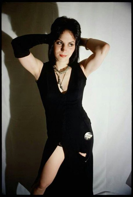 """God, I always just think of myself as a jeans and T-shirt kind of person.\""  Happy birthday Joan Jett (60)"