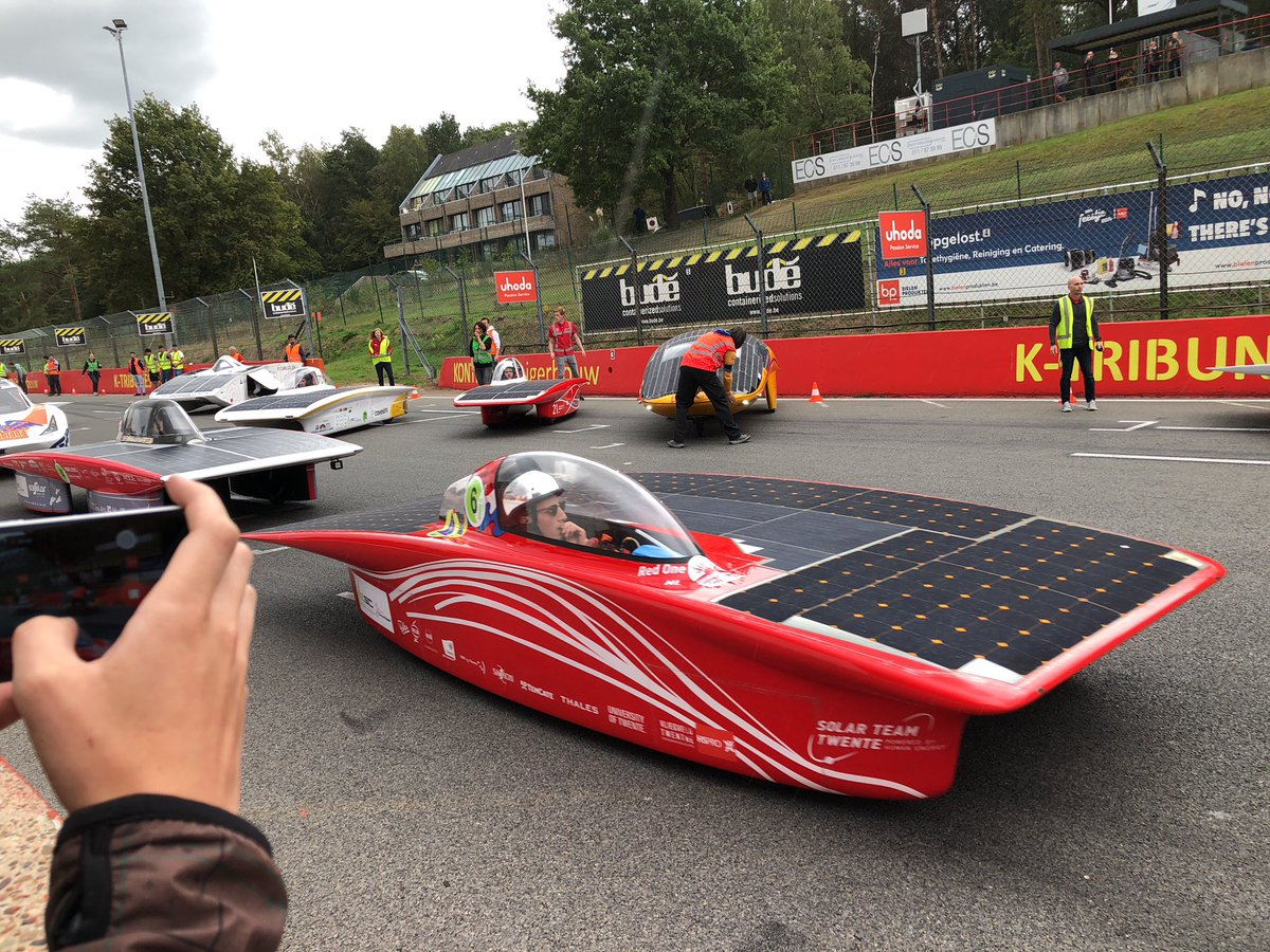 Solar Team Twente On Twitter Lights Out And Away We Go