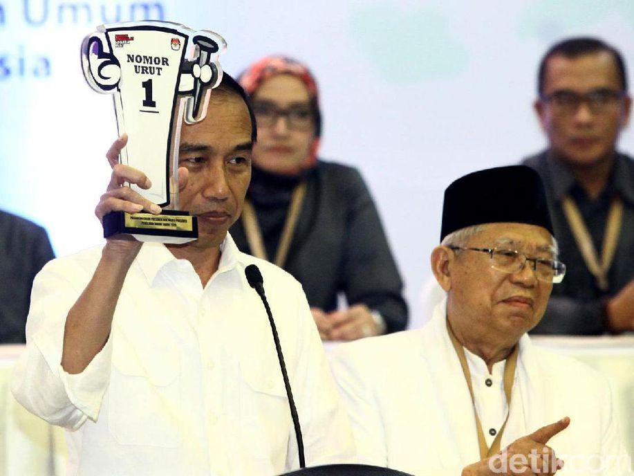 Timses Jokowi: Nomor 01 untuk Sekali Lagi, untuk RI-1 https://t.co/KpnbwnJS7g https://t.co/sogngM2Ujp