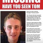 Image for the Tweet beginning: Have you seen Thomas Jones?