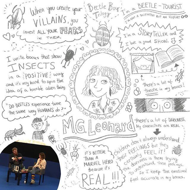 Visual notes on @mglnrd during the fantastic #cbiconf18  Amazing conversation with @theruddlesstravelled  #tarsilakruse #visualnotes #sketch #sketchbook #sketchnotes #makingart #illustrator #procreate #ipadnotes #kidlit #kidlitart #childrensbooks #childr…  https:// ift.tt/2MWvLX8  &nbsp;  <br>http://pic.twitter.com/rpdJjEj3SB