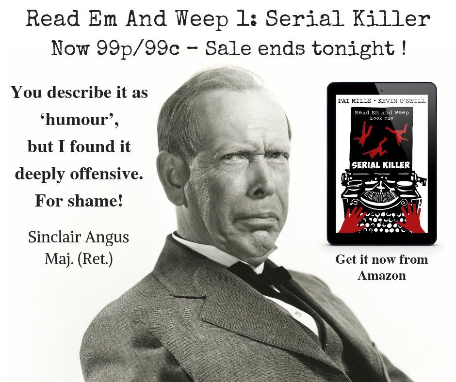 Pat Mills On Twitter Easily Offended Dont Read Serial Killer