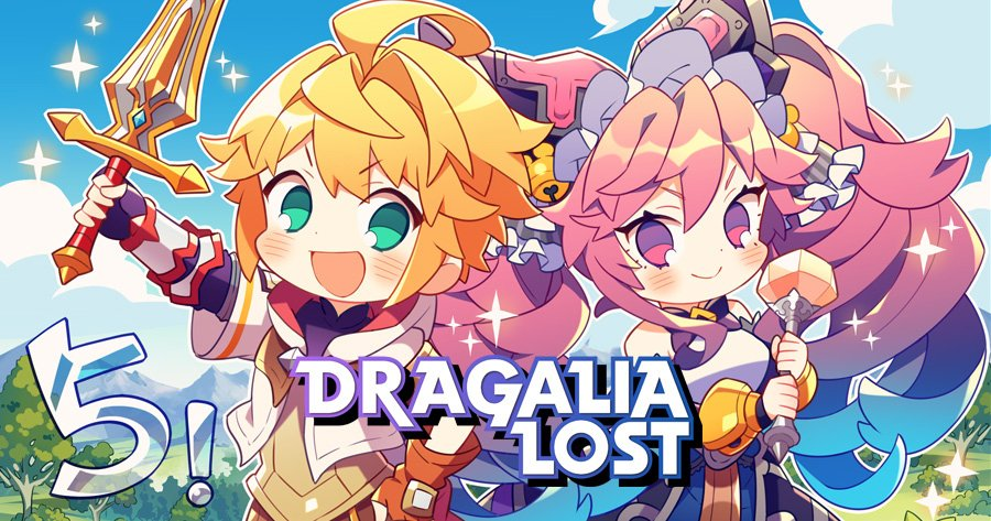 Five days left until service begins for #DragaliaLost! Leading up to launch, we will reveal countdown illustrations done by the development team starting today! We&#39;re starting things off with the Main Character and Cleo!  To pre-register, visit:  https:// dragalialost.com/en/pre_registr ation/ &nbsp; … <br>http://pic.twitter.com/Y5dhrdmpz6