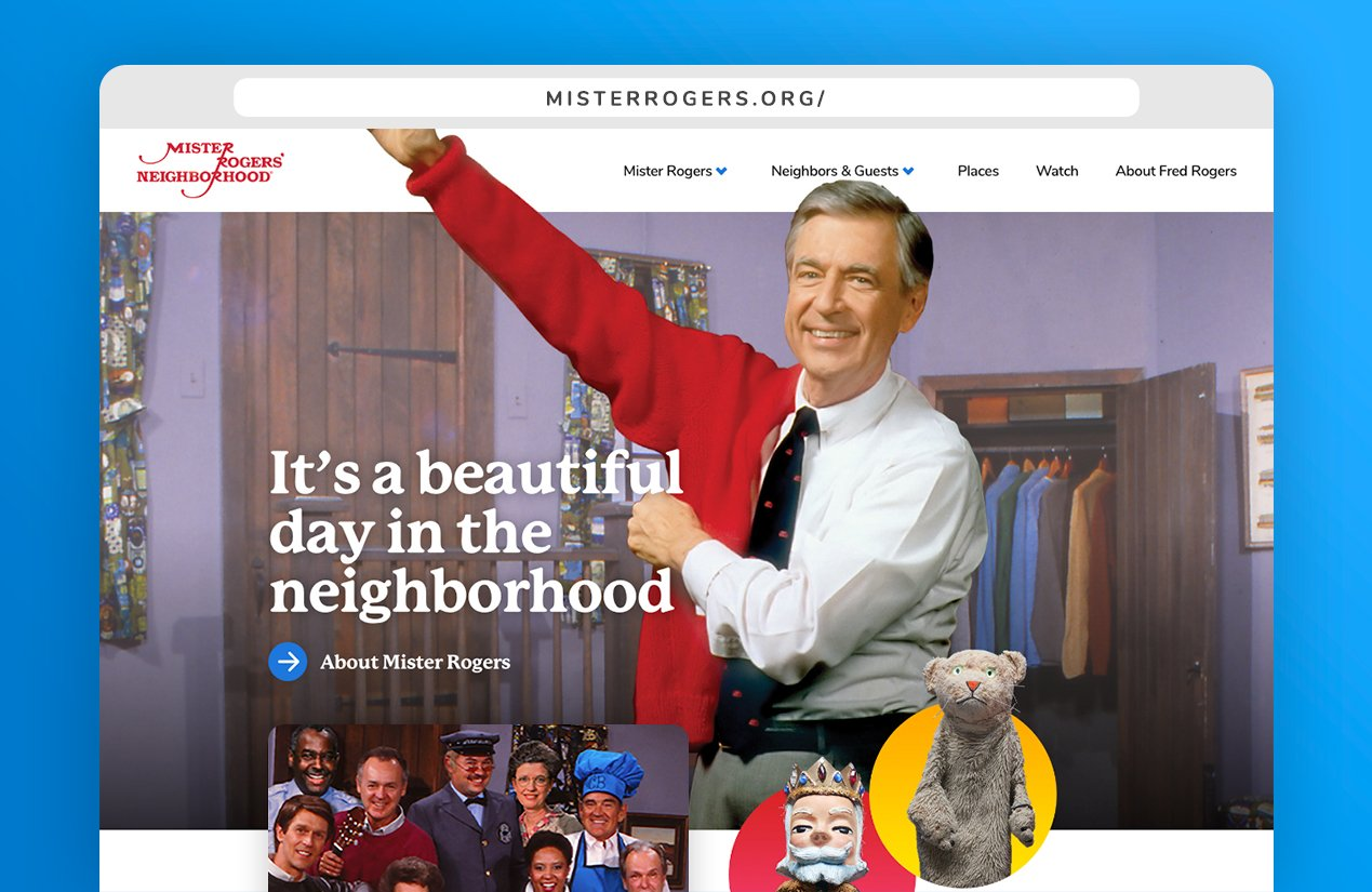 Fred Rogers Productions On Twitter As If Friday S Googledoodle Excitement Wasn T Enough It Was Also The Launch Date Of The New Mister Rogers Neighborhood Website Watch Video Clips Relive Fond Memories And
