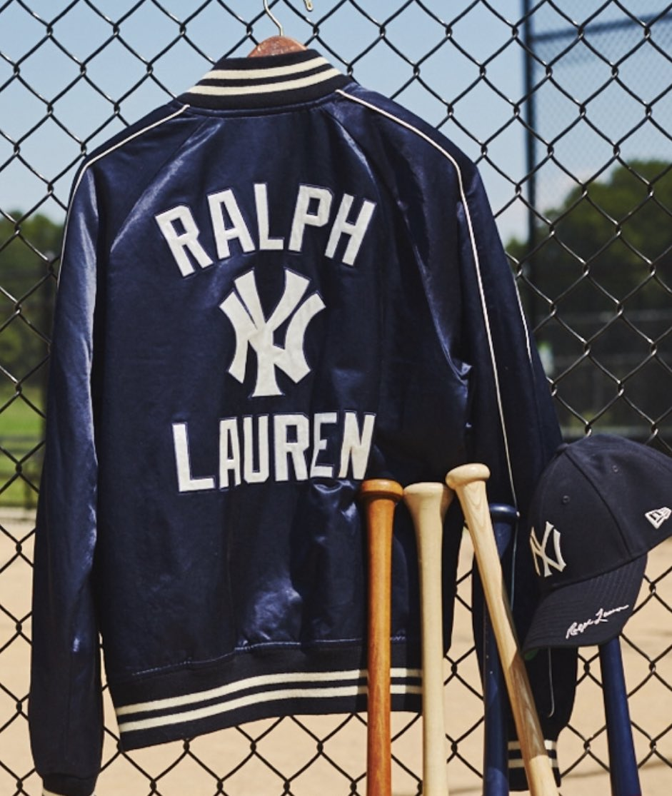 Ralph Lauren makes Yankee collection. Jacket ( 398) sells out quickly ec1fdff5a73