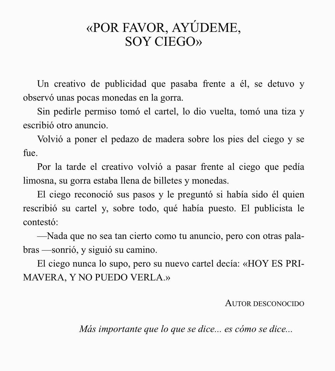 Por Un Mundo Mejor På Twitter Hoy Compartimos Un Cuento Tomado Del Libro Cuentos Con Alma Iii