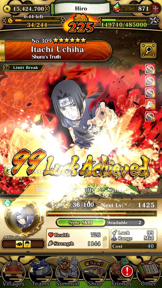 Itachi Uchiha Naruto Blazing