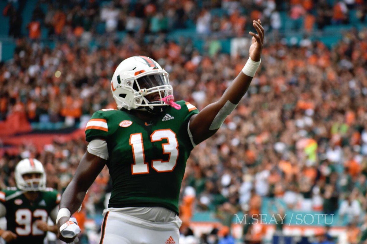 Stateoftheu Com On Twitter Miami Hurricanes Vs Fiu Panthers How