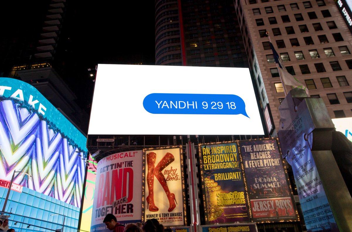 YANDHI 9 29 18
